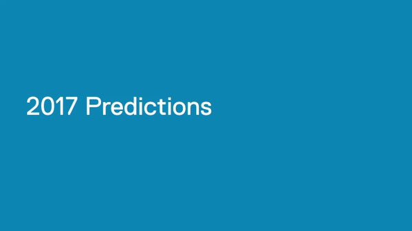 Our CTO @theICToptimist makes 6 tech predictions for 2017: