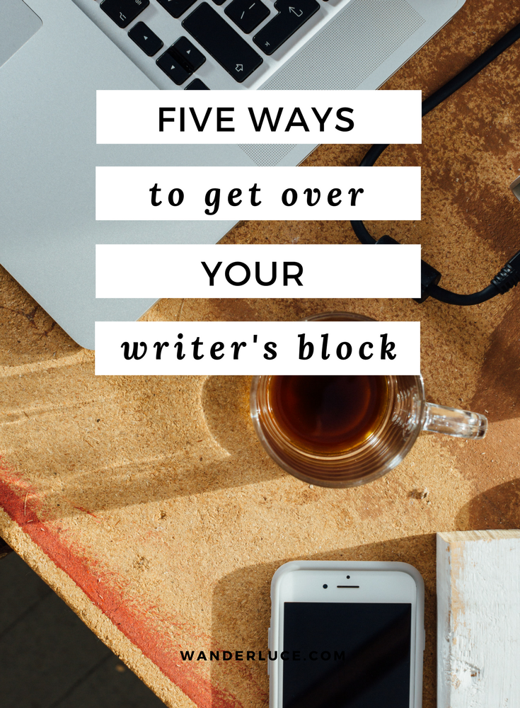 I share my top tips on dealing with the dreaded 'Writer's Block' when I'm blogging, freelancing or writing my to-do list ;)