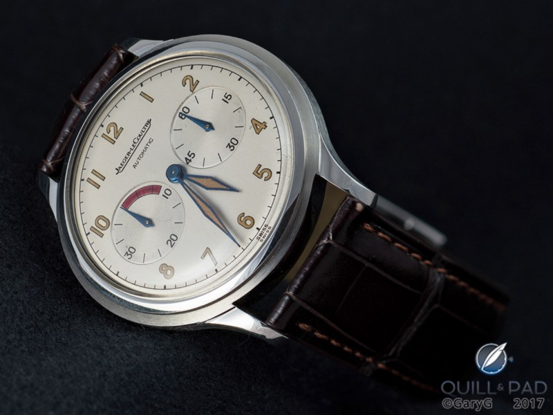 Clean and crisp: the author's vintage Jaeger-LeCoultre Futurematic