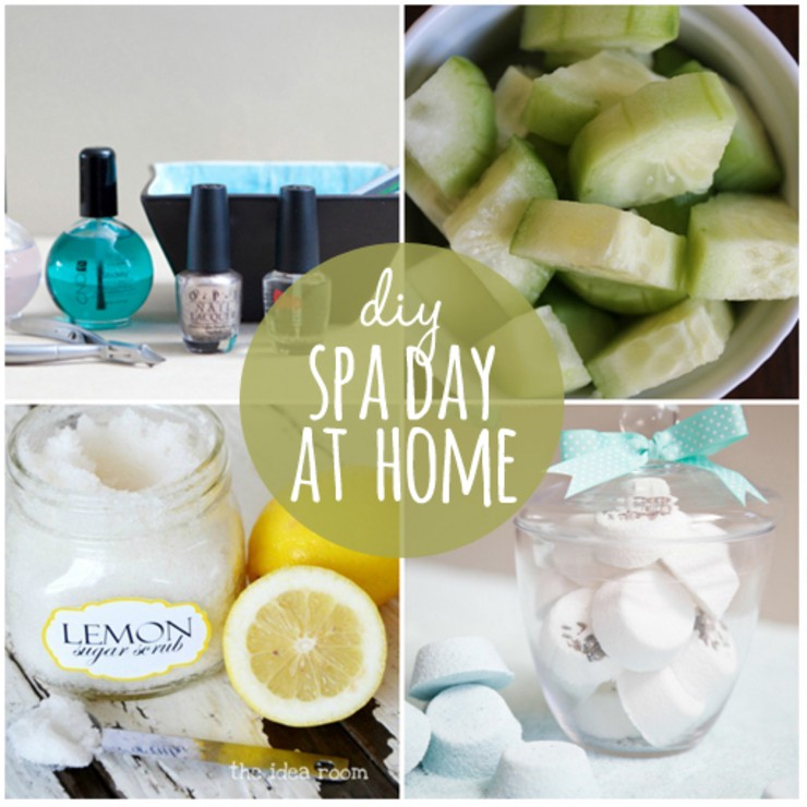 Diy at home spa day idea 1 2