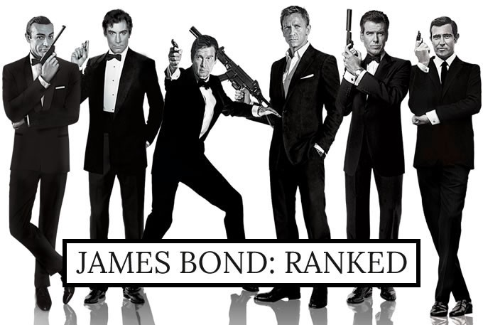 the james bond movies ranked � film school rejects