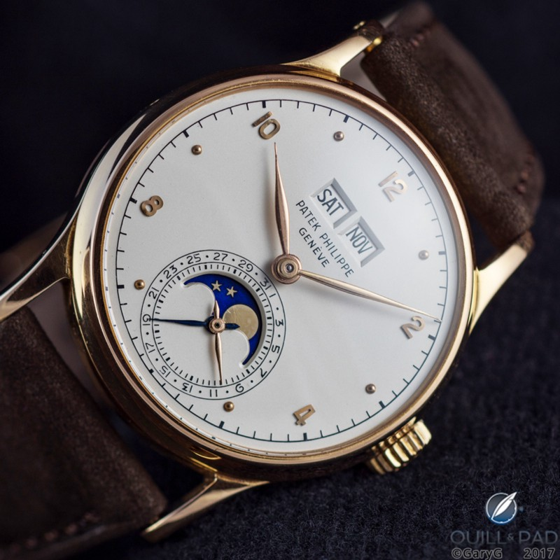 Little big watch: the author's rare pink gold Patek Philippe Reference 1526