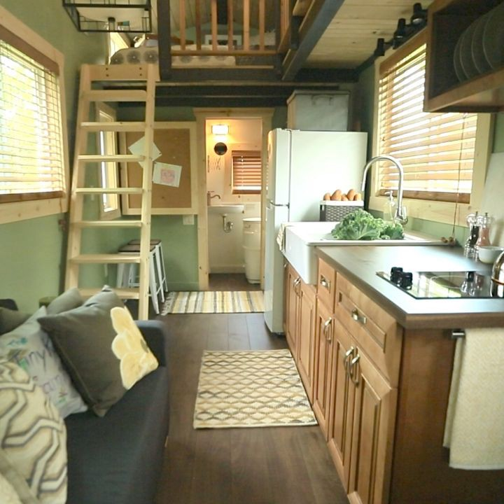 Dear people who live in fancy tiny houses lauren modery for Large family living in small house