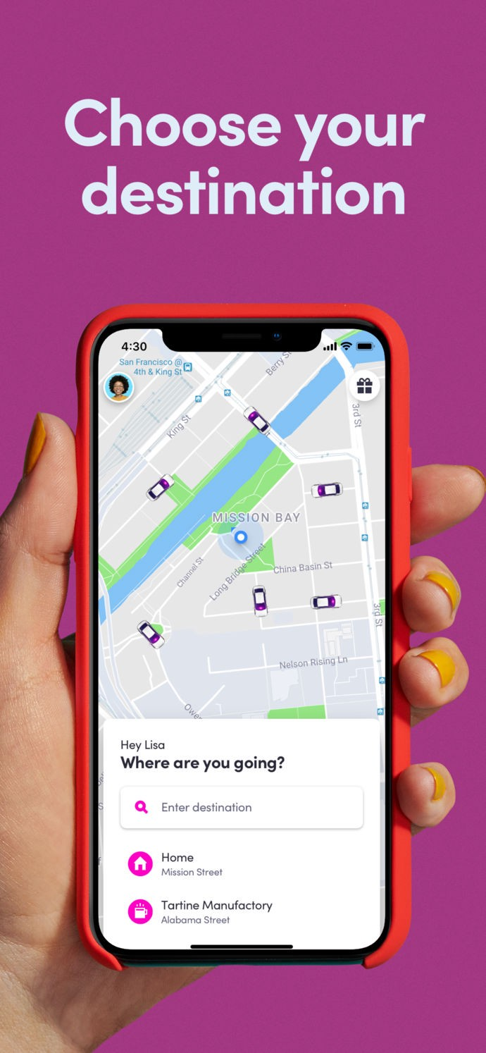 What every product designer should take away from Lyft's new UI