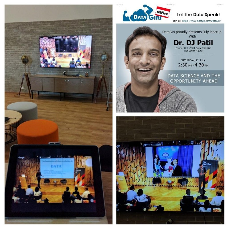 DataGiri with DJ Patil | Snapshots of Live Stream