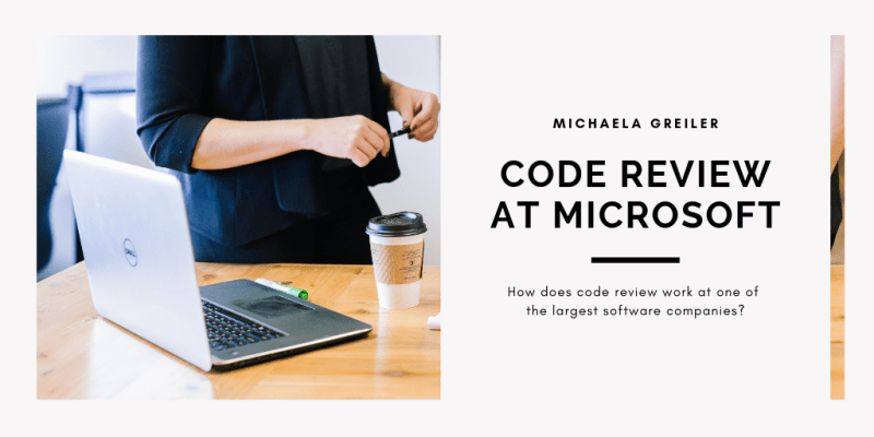 How code reviews work at Microsoft