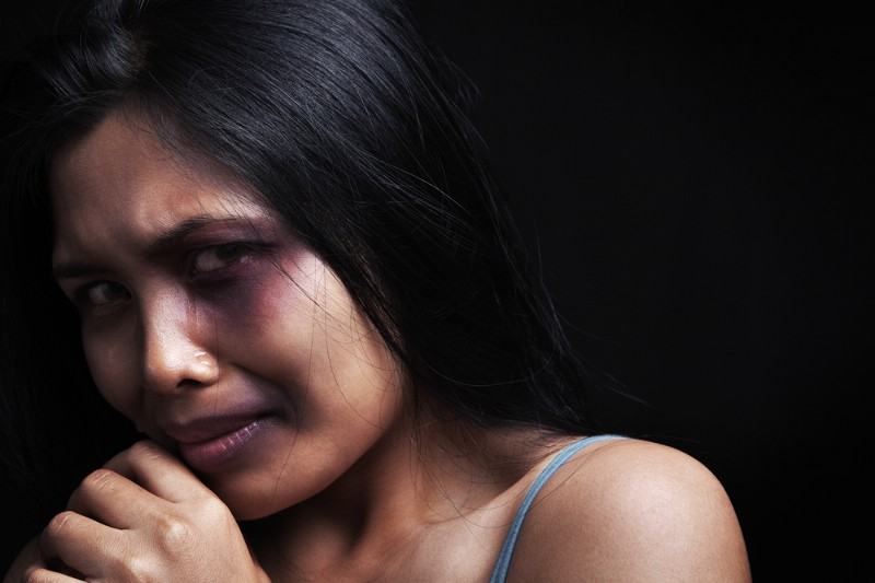 South asian battered women in