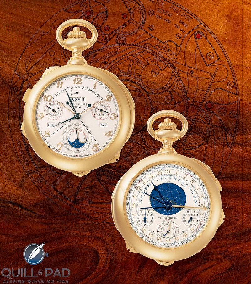 Patek Philipe Caliber 89 in yellow gold