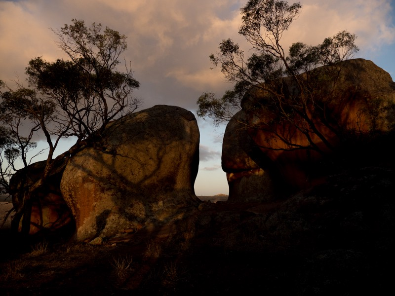 Murphy's Haystacks are a group of ancient, wind-worn rock of pink granite located between Streaky Bay and Port Kenny on the Eyre Peninsula in South Australia © Michaela Skovranova / Greenpeace