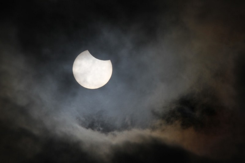 Photograph partial solar eclipse by Mark B on 500px