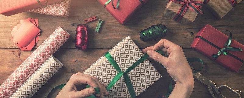Offer gift-wrapping
