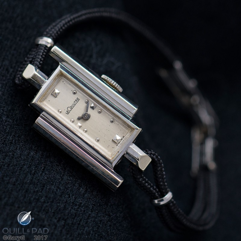 MrsGaryG gets in on the vintage act: LeCoultre Ladies' watch in white gold