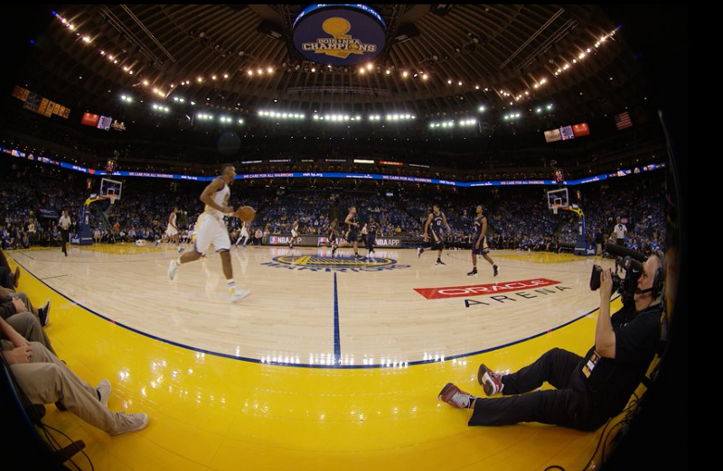 Virtual reality is being pegged as the future of sports consummation. Photo via SportTechie