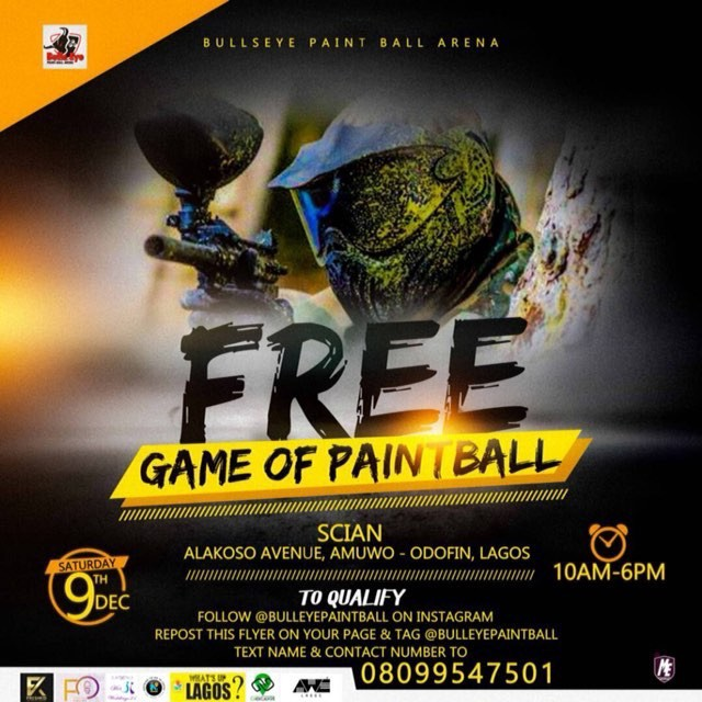 Free Paintball