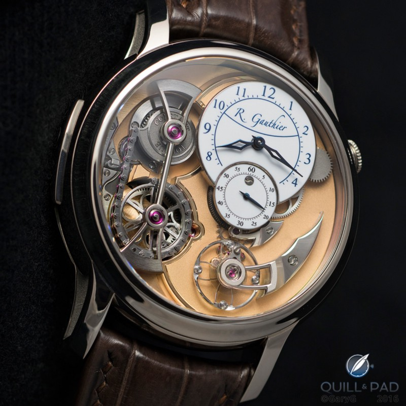 Parting shot: Romain Gauthier Logical One in white gold