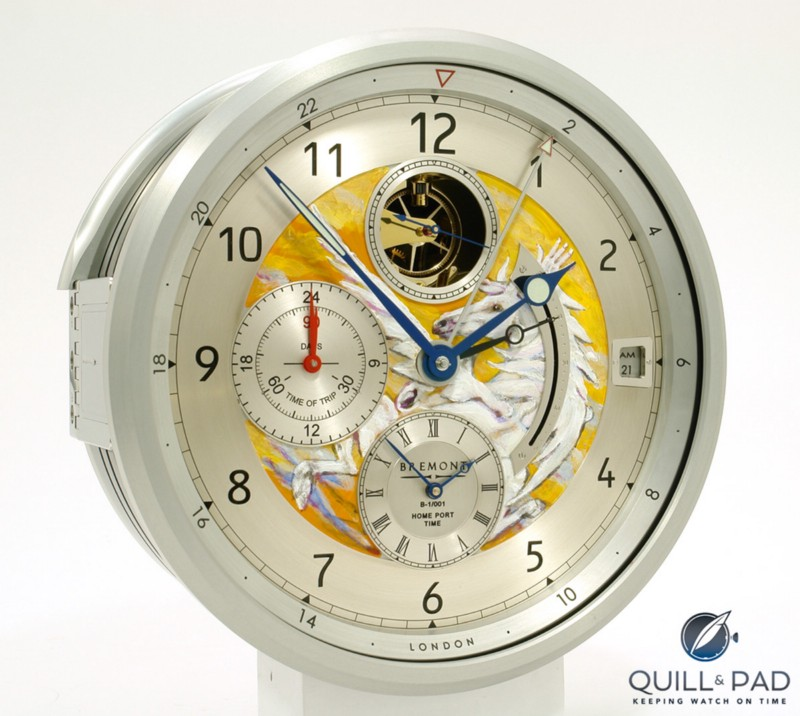 "Ronnie Wood's first clock dial for Bremont was ""Wild Horses"""