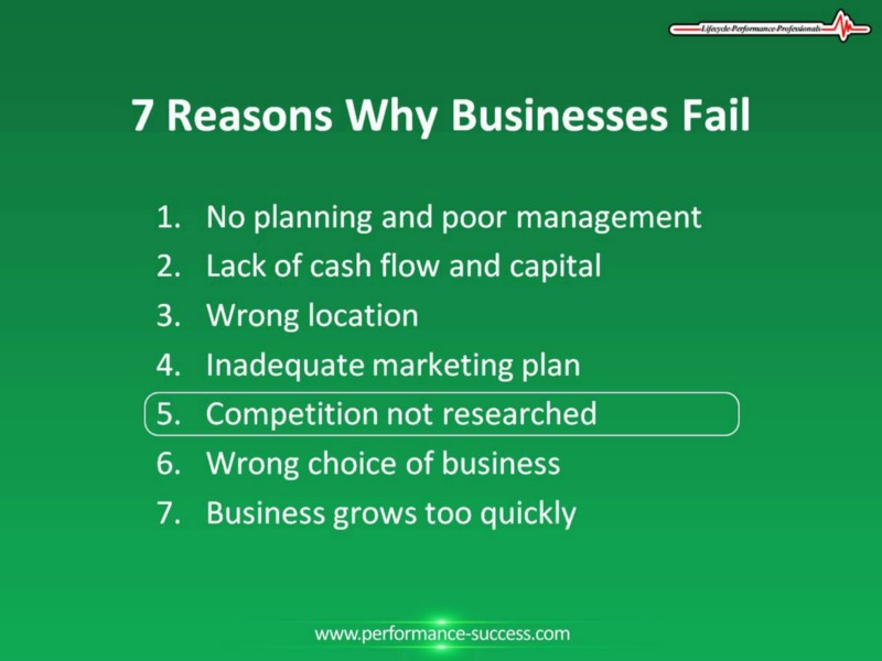4 out of 5 businesses have no data & analytic support in their first 5 years