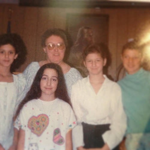 Sunday School sleepover, I think an activity was learning about CULTS. #TBT