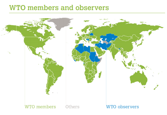 does wto actually promote world trade To promote free trade, came into force in 1948 in 1995  on tariffs and trade ( gatt), whose goal is he world  the world trade organization (wto) has 160  member countries from around the world  actually, the members actively  utilize.