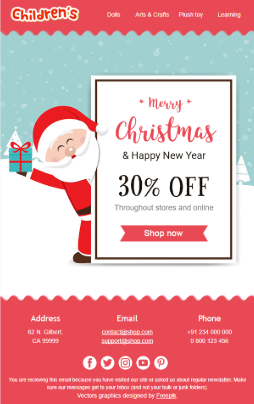 website design tips christmas