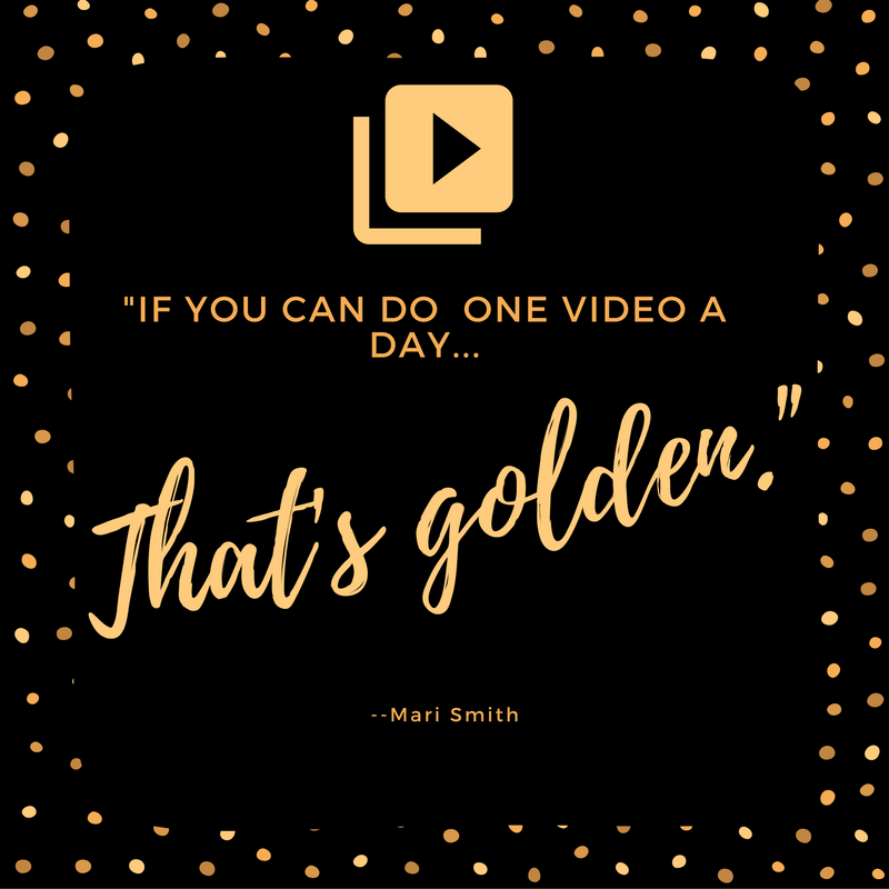 Mari Smith Quote about Facebook video