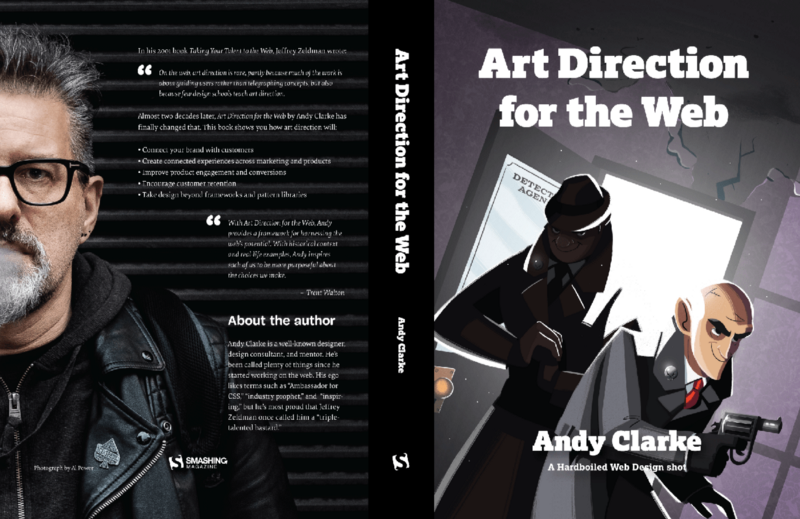 Art Direction for the web book by Andy Clarke