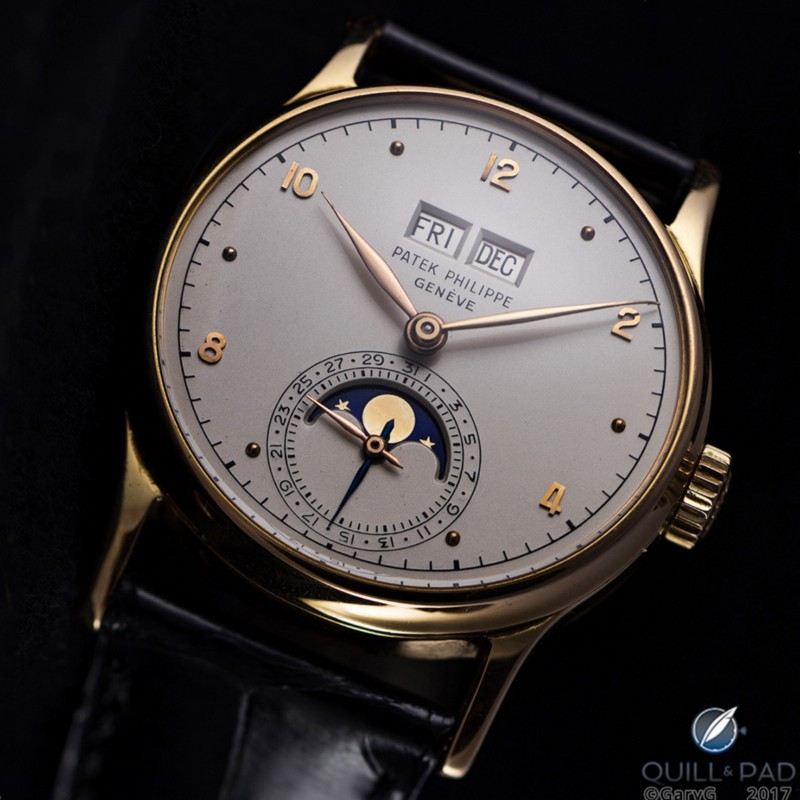 Ticking legend: the first serially produced perpetual calendar wristwatch, Patek Philippe Reference 1526