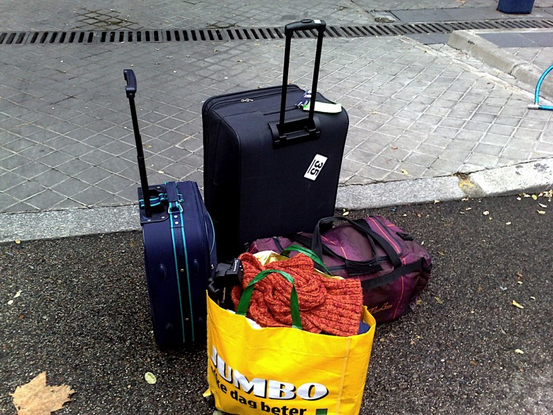 Bags used for travelings