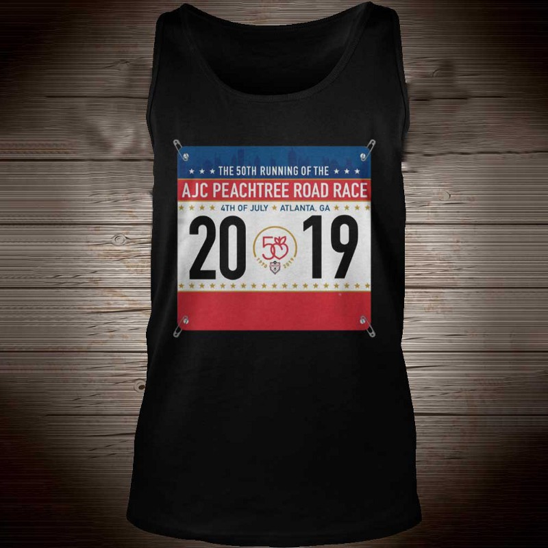 2019 AJC Peachtree Road Race shirt - teloteeshop's diary