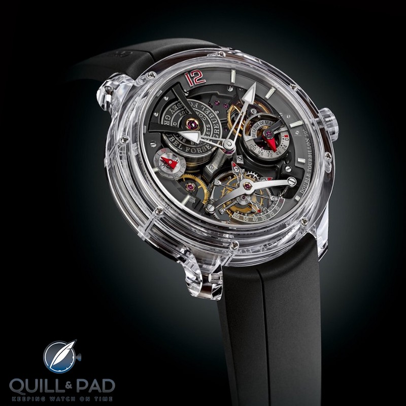 Greubel Forsey Double Tourbillon 30° Technique Sapphire