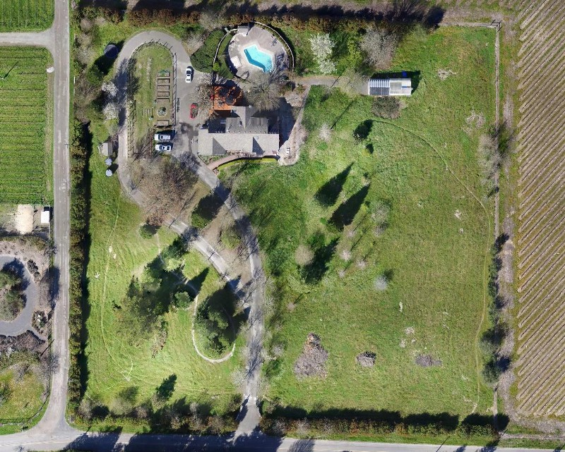 Drone mapping saves time and reduces costs for landscape for Garden design 1 acre
