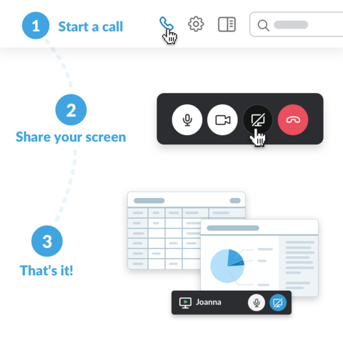 Screen sharing comes to Slack video calls | The Official