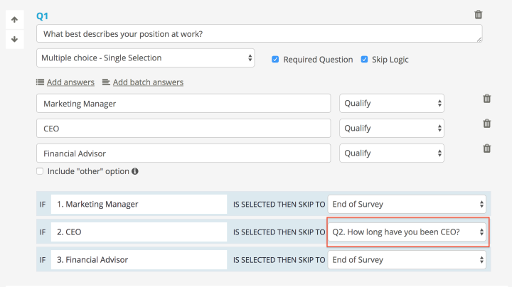 Create targeted screener and ideal user types to interview.
