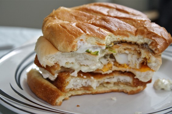 Battle of the fast food fish sandwiches nyu local for Fast food fish sandwich
