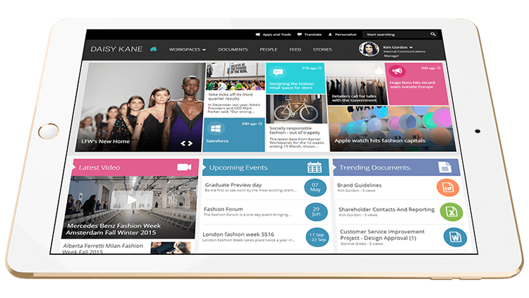 using card style design to improve your intranet user experience