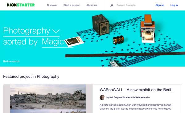 Eight Tips to Get Your Photo Project Funded on Kickstarter