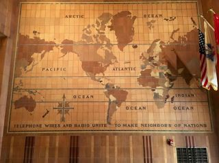 Telephone wires and radio unite to make neighbors of nations