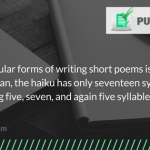 interesting fact about poems