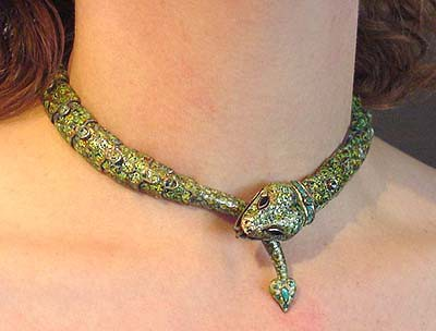 Wrap around animal jewelry for Jewelry just for fun