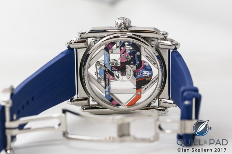 Back view of the Manufacture Royale ADN Art