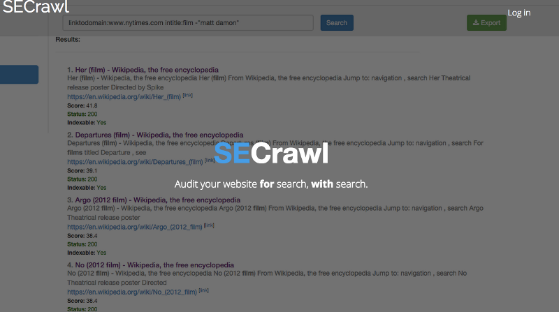 SECrawl_-_Enterprise_Website_Crawler__built_on_search