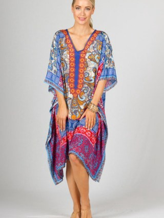 best printed pattern kaftans to look young for women