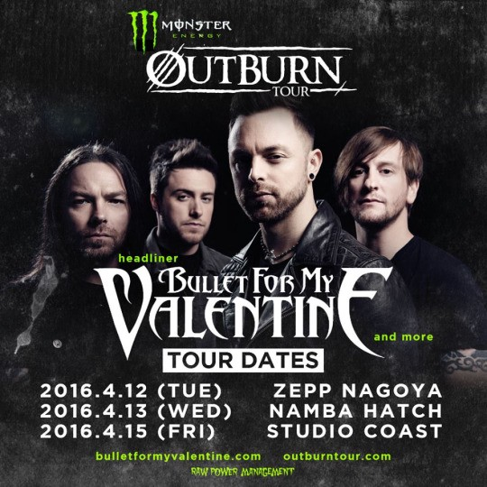 Bullet for my valentine band new album venom - songs lyrics