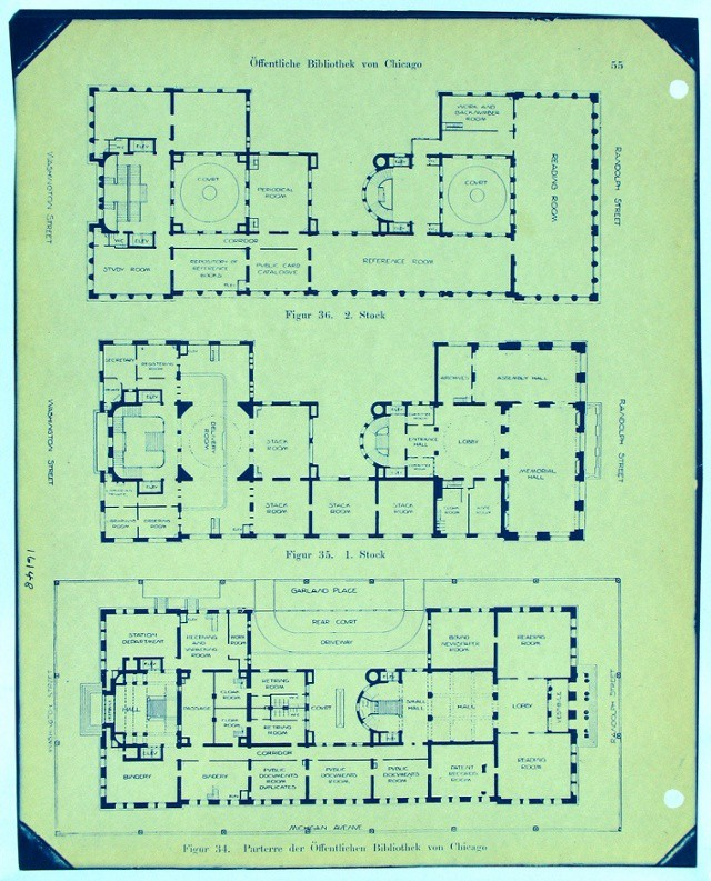 The history of blueprints plangrid construction productivity blog 20th century hand drawn plan history of blueprints in construction malvernweather Choice Image