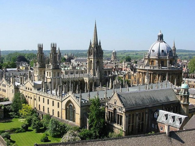 Under The Dreaming Spires? - Oxford University