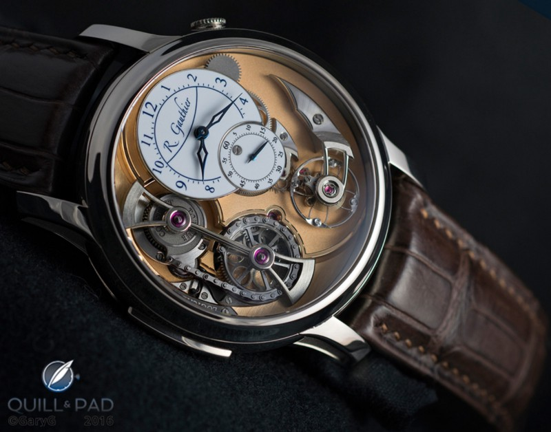 Sheer beauty: Romain Gauthier Logical One