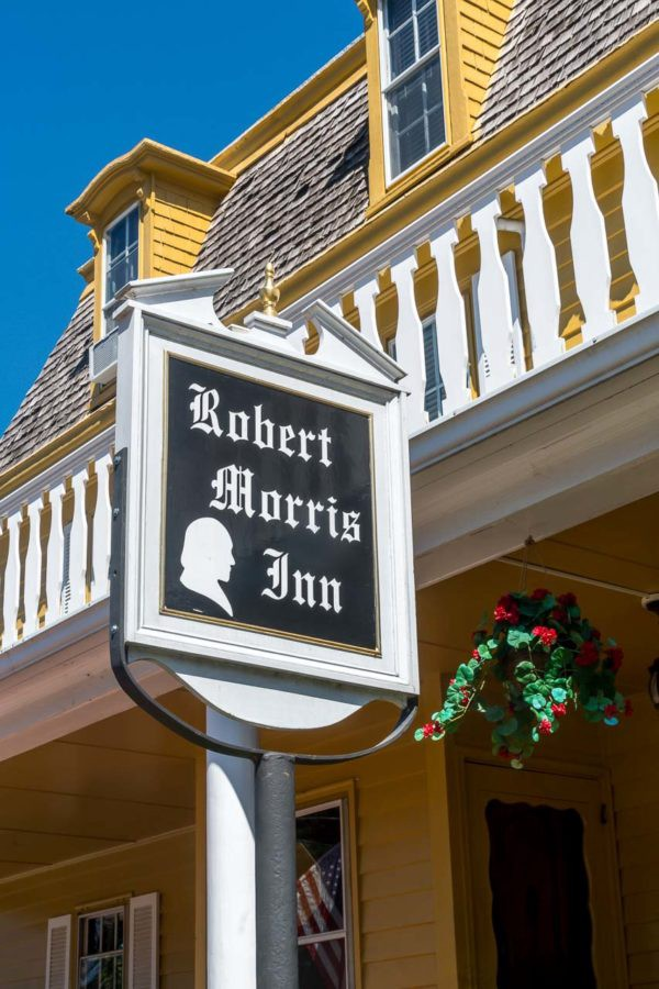 Robert Morris Inn in the Historic town of Oxford, MD