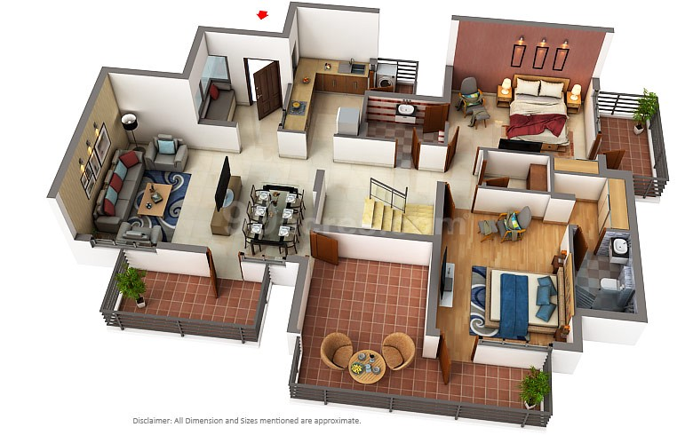 3 bhk apartment for sale in elite cross Zirakpur