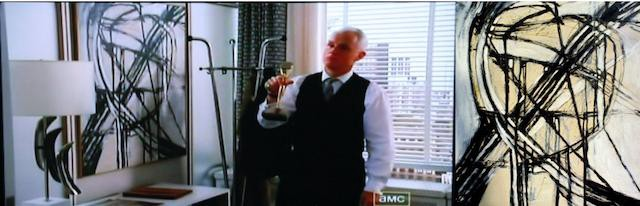 as roger sterlings office decor on mad men you will also be able to see her work in the upcoming terrence malick film knight of cups art roger sterling office