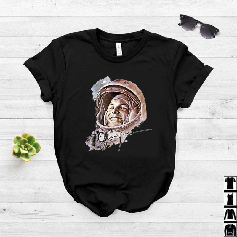 Pretty USSR Astronaut Yuri Gagarin The First Human To Journey Into
